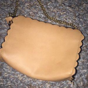 Zara Bags - Brand new Zara appliqué flower leather bag